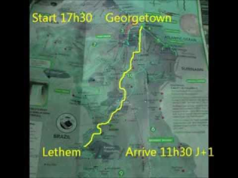 Travel from Georgetown to Lethem - Guyana