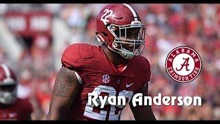 Ryan Anderson || Alabama Career Highlights || 2014 - 2017