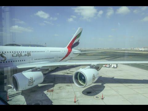 Emirates Airbus A380 /  Dallas Ft Worth to Dubai