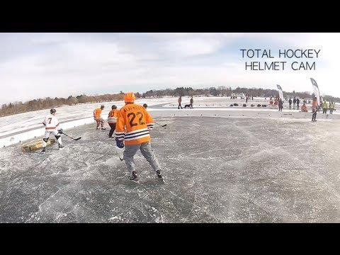 U.S. Pond Hockey Championships - Helmet Cam