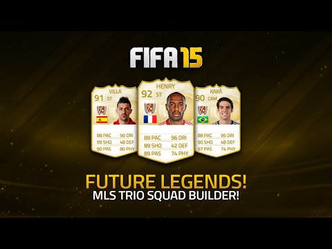 Future Legends! Henry, KakÁ & Villa! W  Squad Builder! | Fifa 15 Ultimate Team video