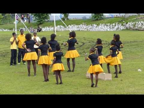 Pentecostal City Mission Jamaica Youths Sports Day Cheerleading Competition 2013
