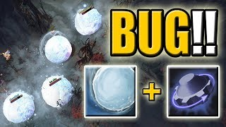 NEVER PICK THIS COMBO [Rearm + Snowball] Permanent Snowball Animation Bug | Dota 2 Ability Draft