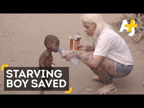 Aid Worker Saves Nigerian Boy Accused Of Being A Witch