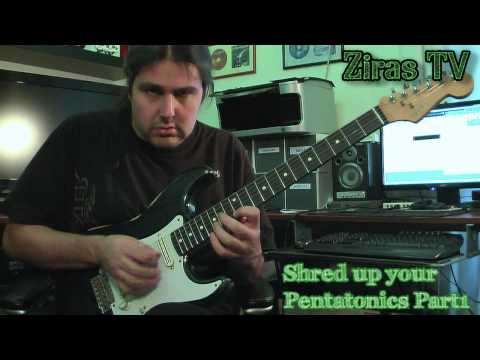 Shred Up Your Pentatonics Part1 | Lick Of The Week 59