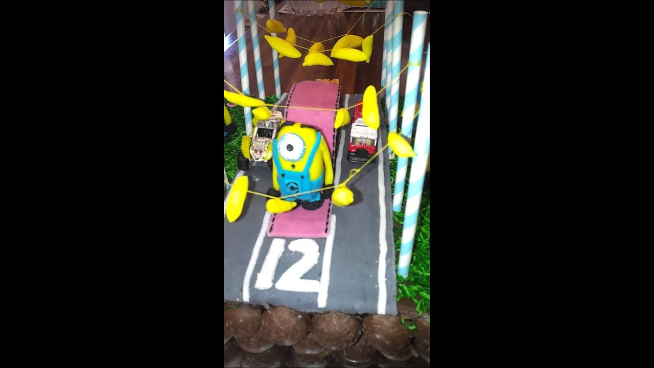 Minion Rush Birthday Cake Image Inspiration of Cake and Birthday