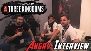 Total War: Three Kingdoms - AngryJoe Interview E3 2018!