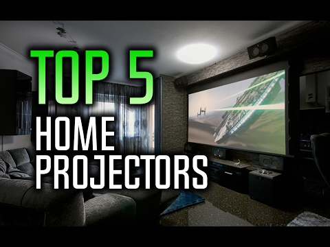 Best Home Theater Projectors - Top 5 Projectors for 2017