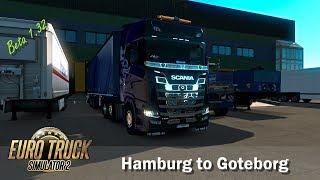 Euro Truck Simulator 2 ¦ Beta 1 32 ¦ Hamburg to Goteborg