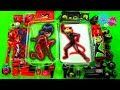 Mezclando Slime de Ladybug vs Cat Noir (Rojo vs negro) - Supermanualidades