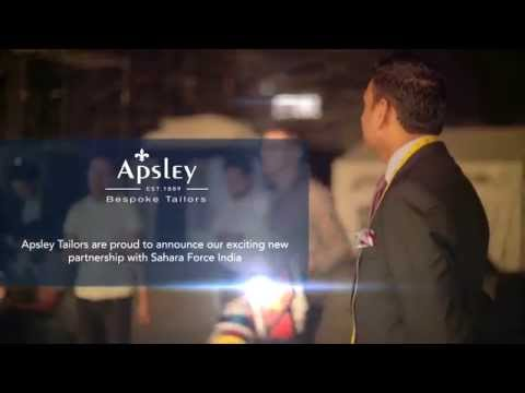 Apsley Tailors partner with Sahara Force India for the 2015 season