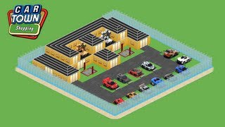 How to build House in Car Town-Car Town Awesome Garage! 05:59
