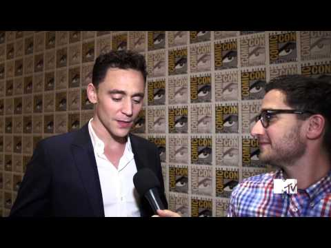 MTV interview - Tom Hiddleston Brings Loki To Comic Con [720p]
