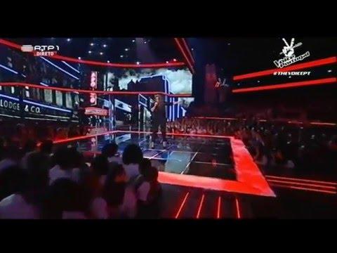 "Patrícia Teixeira – ""It's a man's world"" - 1ª Gala The Voice Portugal | Season 3"