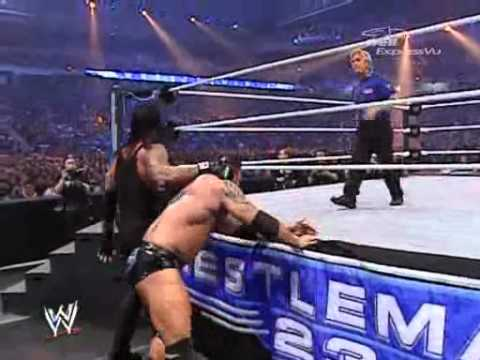 Wwe Wrestlemania 23 Batista Vs Undertaker (whc Title Match) video