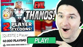 *NEW* QUESTS In SUPERHERO TYCOON!! *HARD* (Roblox)
