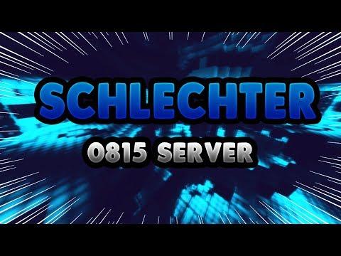 SCHLECHTER 0815 MINECRAFT SERVER - Minecraft Server Vorstellung 1.8 || Deutsch/German