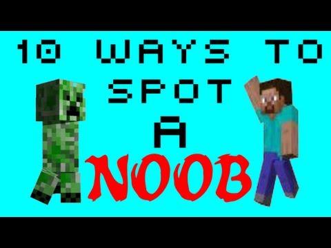 10 Ways to Spot a Noob - Minecraft