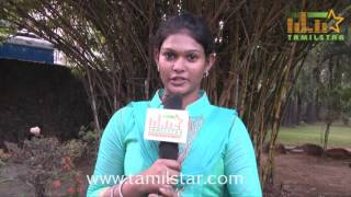 Nakshathra At Kidaa Poosari Magudi Movie Team Interview