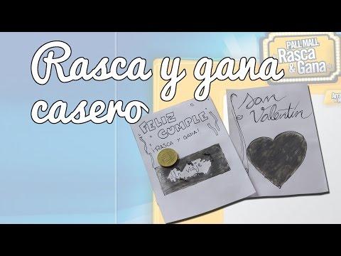 Rasca y gana casero - Manualidades para regalar (Manualidades Fáciles)