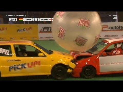 Gruppe B: Ghana - England - TV total Autoball