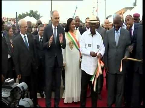 Présidence: Alassane Ouattara inaugure la voie express Mohamed VI