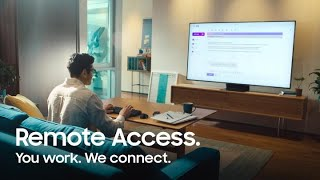 Remote Access: Work and learn on your TV | Samsung