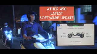 Ather Electric Scooter - June 2019 Software Update