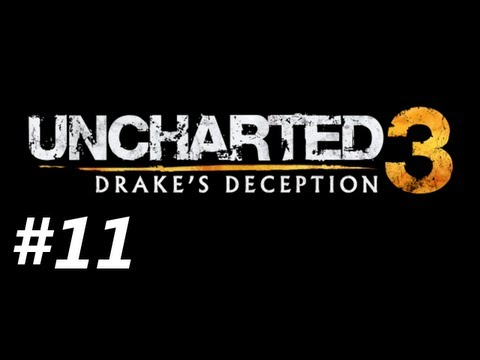 Uncharted 3 Drake's Deception Campaign Walkthrough Part 11 - PUZZLES