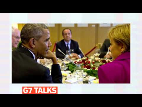 mitv - G7 leaders warn Russia of fresh sanctions over Ukraine
