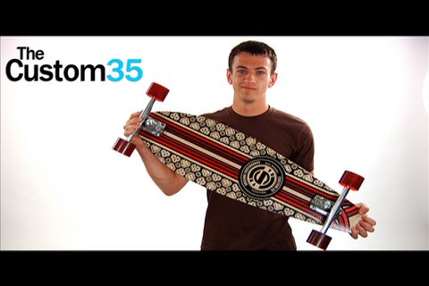 The Custom 35 Longboard by Original Skateboards