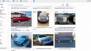 Avoid car scams on Craigslist