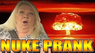 NUCLEAR ATTACK PRANK ON GRANDMOM - SCARE PRANK (PRANKS)