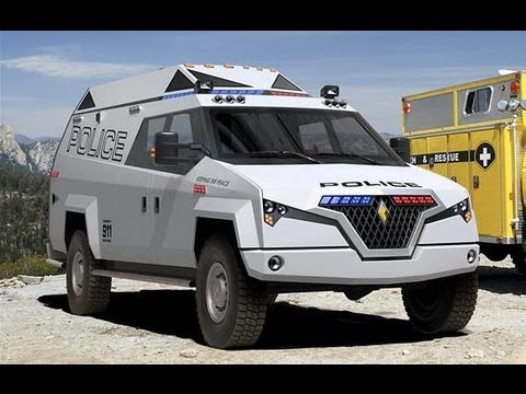 Auto Report - New Carbon Motors Police Van for US Cops