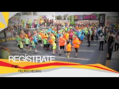 Participa en la Carrera Actívate Coahuila Infantil en Piedras Negras