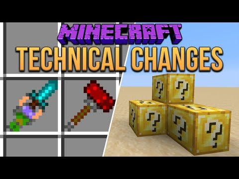 Minecraft 1.14 What Can We Do With New Technical Features? (Snapshot 18w43a)