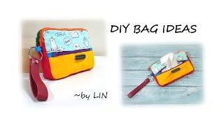 DIY BAG IDEAS~ ZIPPER POUCH TUTORIAL #HandyMum
