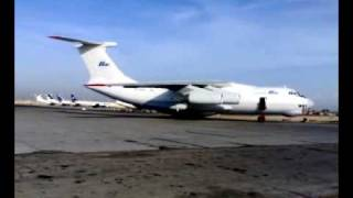 IL-76 engine start