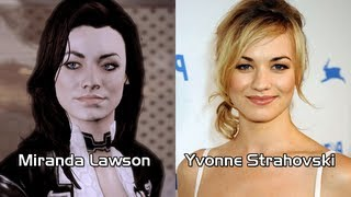 Characters and Voice Actors - Mass Effect 2