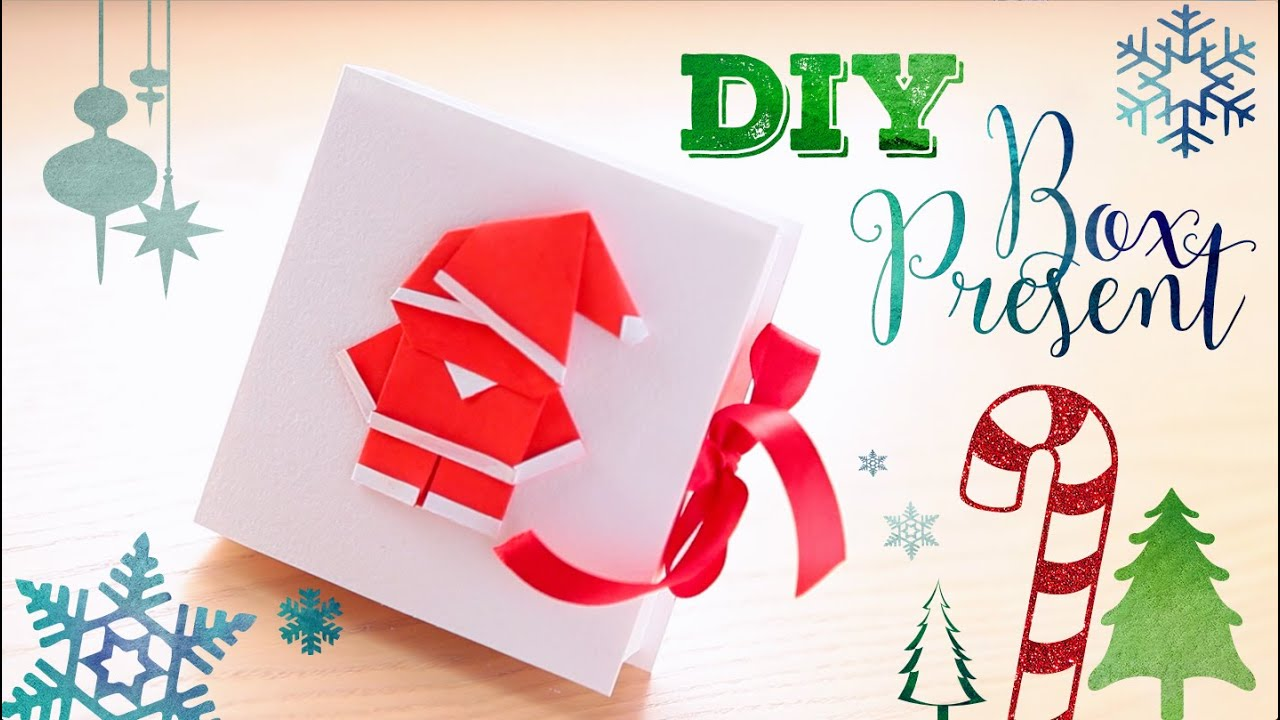 How to make an easy Origami Father Christmas Santa Claus 1
