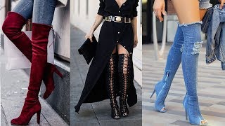 Awesome Knee High Boots Ideas 2017 - 2018 for Girls & Women
