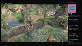 Last of us gamers playing uncharted lost legacys
