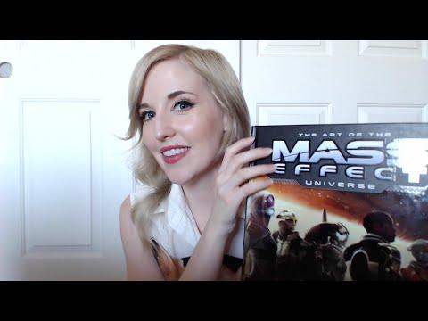The Art of Mass Effect Book--Binaural ASMR With Book Sounds