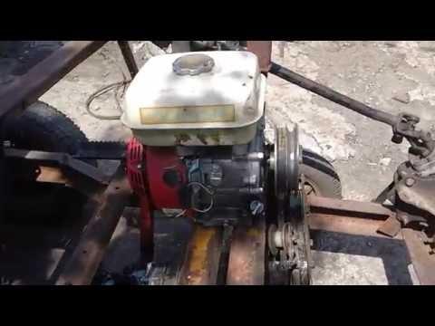Самодельный минитрактор своими руками с двигателем лифан 70