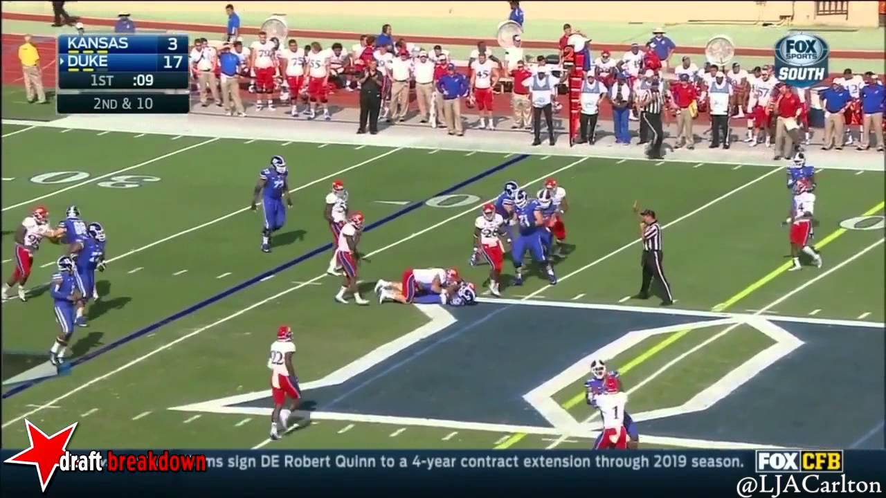 Laken Tomlinson vs Kansas (2014)