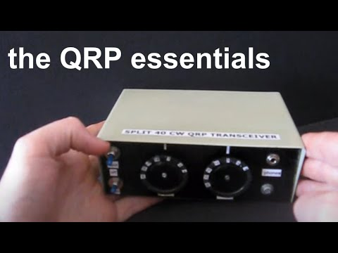 Three features every homebrew QRP CW rig must have