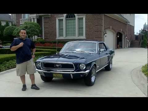 1968 Mustang Coupe Classic Muscle Car for Sale in MI Vanguard Motor Sales