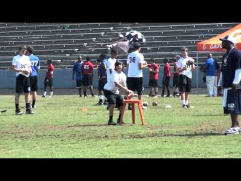 Mo Hasan QB at FBU Miami/Atlanta Camp 2011