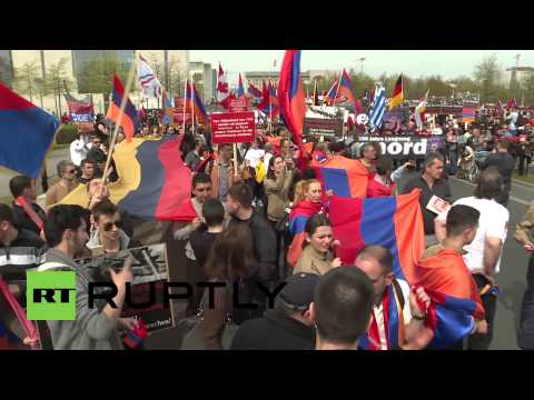 Germany: Thousands march for recognition of Armenian