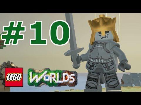 LEGO Worlds: Story Mode Walkthrough: Part 10 - Watchful Wilderness Medieval Town
